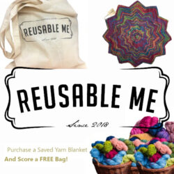 Buy a Saved Yarn Blanket - Score a FREE Bag!